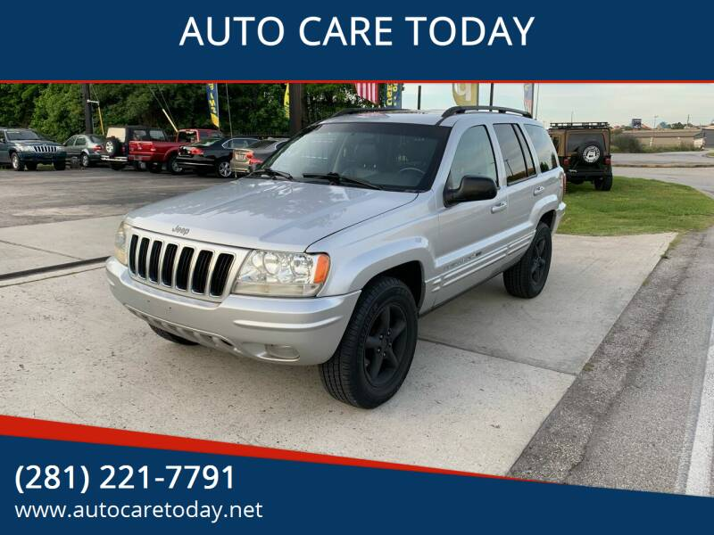 2003 Jeep Grand Cherokee for sale at AUTO CARE TODAY in Spring TX