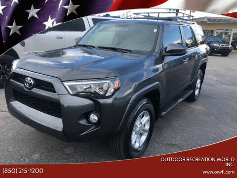 2019 Toyota 4Runner for sale at Outdoor Recreation World Inc. in Panama City FL