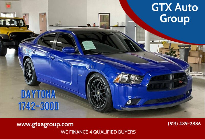 2013 Dodge Charger for sale at GTX Auto Group in West Chester OH