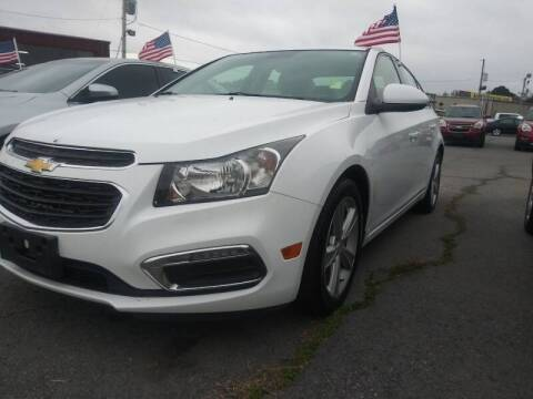 2015 Chevrolet Cruze for sale at Auto Credit Xpress - Sherwood in Sherwood AR