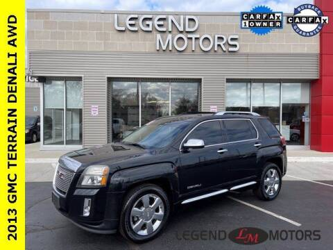 2013 GMC Terrain for sale at Legend Motors of Waterford in Waterford MI