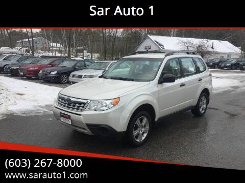 2013 Subaru Forester for sale at Sar Auto 1 in Belmont NH