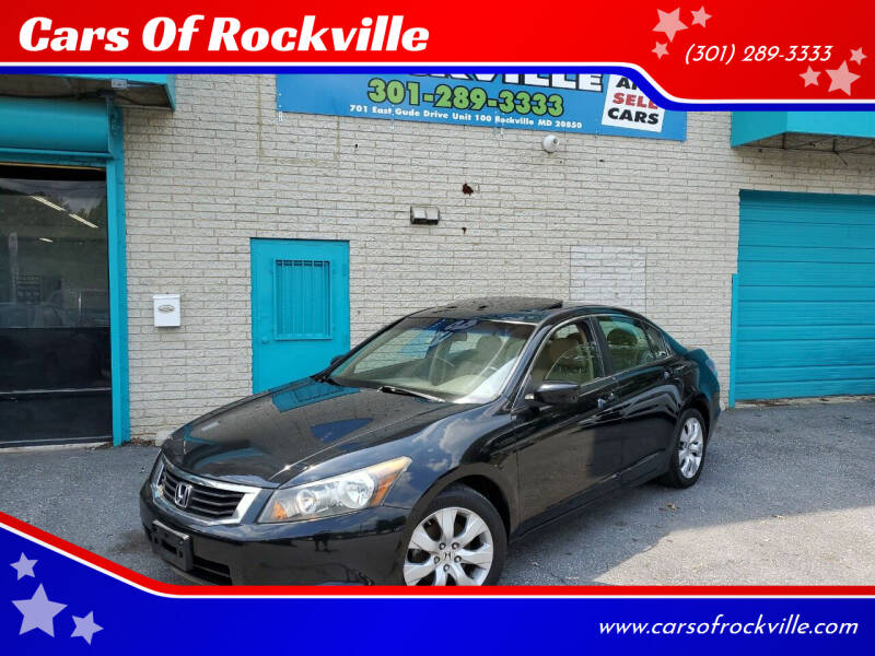 2010 Honda Accord for sale at Cars Of Rockville in Rockville MD