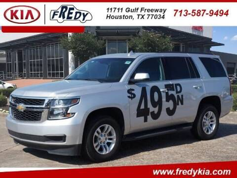 2019 Chevrolet Tahoe for sale at FREDY KIA USED CARS in Houston TX