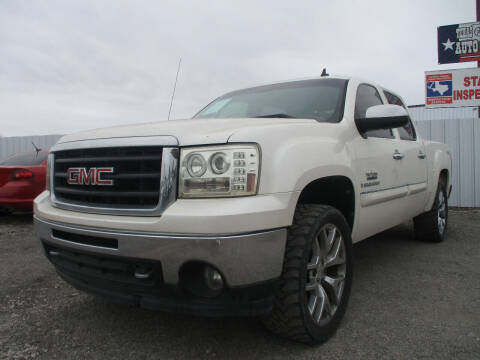 2009 GMC Sierra 1500 for sale at Texas Country Auto Sales LLC in Austin TX