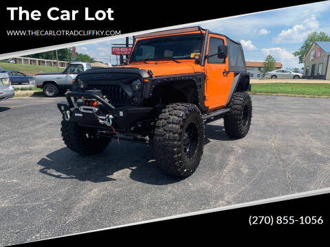 2012 Jeep Wrangler for sale at The Car Lot in Radcliff KY