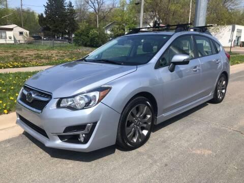 2015 Subaru Impreza for sale at ONG Auto in Farmington MN