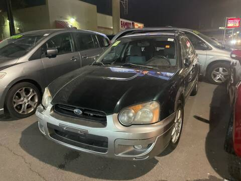 2005 Subaru Impreza for sale at Capitol Hill Auto Sales LLC in Denver CO