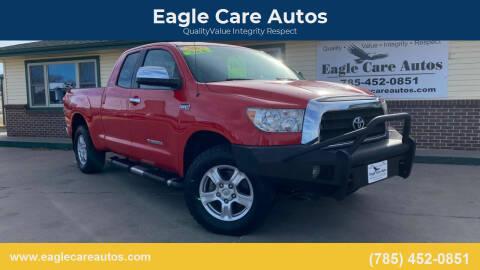 2007 Toyota Tundra for sale at Eagle Care Autos in Mcpherson KS
