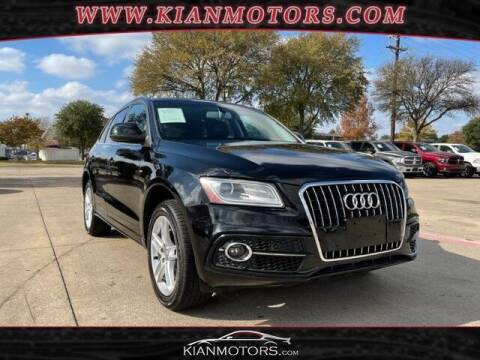 2013 Audi Q5 for sale at KIAN MOTORS INC in Plano TX