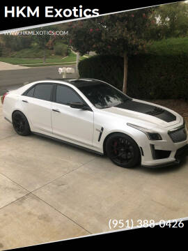 2019 Cadillac CTS-V for sale at HKM Exotics in Corona CA