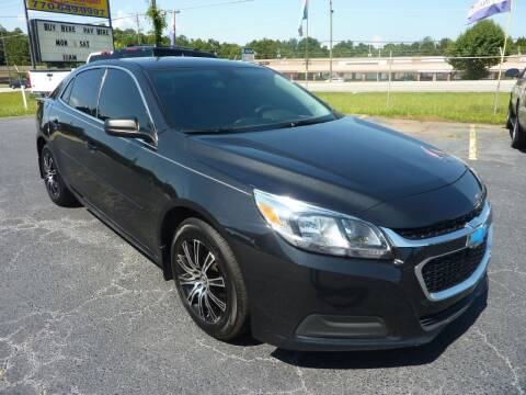 2014 Chevrolet Malibu for sale at Roswell Auto Imports in Austell GA