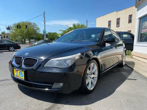 2008 BMW 5 Series for sale at ADAM AUTO AGENCY in Rensselaer NY