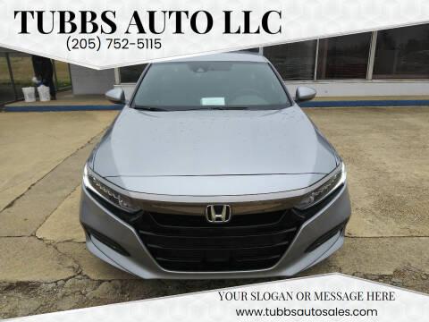 2019 Honda Accord for sale at Tubbs Auto LLC in Tuscaloosa AL