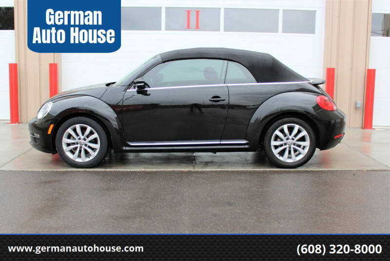 2014 Volkswagen Beetle Convertible for sale at German Auto House in Fitchburg WI