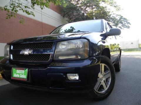 2008 Chevrolet TrailBlazer for sale at Dasto Auto Sales in Manassas VA