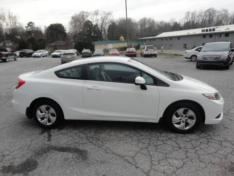 2013 Honda Civic for sale at HAPPY TRAILS AUTO SALES LLC in Taylors SC