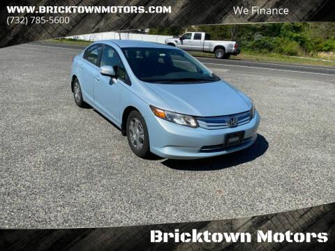 2012 Honda Civic for sale at Bricktown Motors in Brick NJ