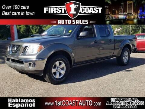 2009 Nissan Frontier for sale at 1st Coast Auto -Cassat Avenue in Jacksonville FL