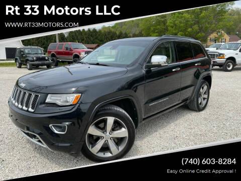 2014 Jeep Grand Cherokee for sale at Rt 33 Motors LLC in Rockbridge OH