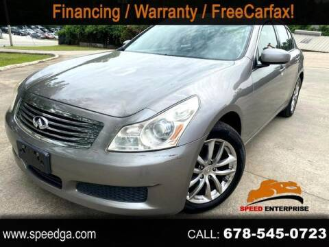 2007 Infiniti G35 for sale at JES Auto Sales LLC in Fairburn GA
