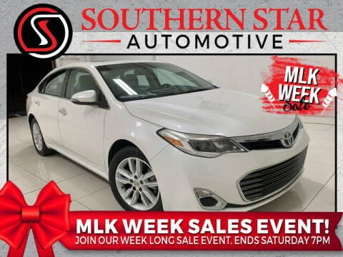 2013 Toyota Avalon for sale at Southern Star Automotive, Inc. in Duluth GA