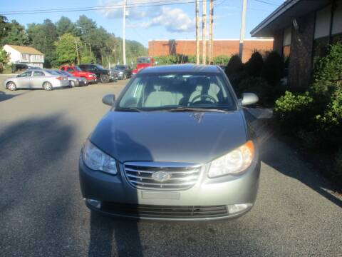 2010 Hyundai Elantra for sale at Lynch's Auto - Cycle - Truck Center in Brockton MA