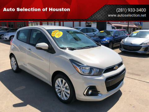 2017 Chevrolet Spark for sale at Auto Selection of Houston in Houston TX