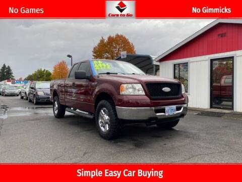 2006 Ford F-150 for sale at Cars To Go in Portland OR