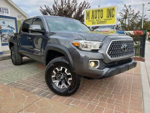 2018 Toyota Tacoma for sale at M AUTO, INC in Millcreek UT