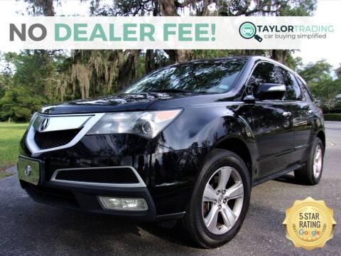 2012 Acura MDX for sale at Taylor Trading in Orange Park FL