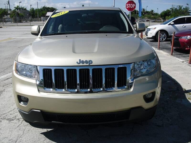 2012 Jeep Grand Cherokee for sale at SUPERAUTO AUTO SALES INC in Hialeah FL