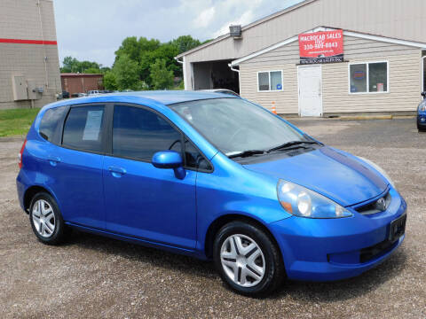 2008 Honda Fit for sale at Macrocar Sales Inc in Akron OH
