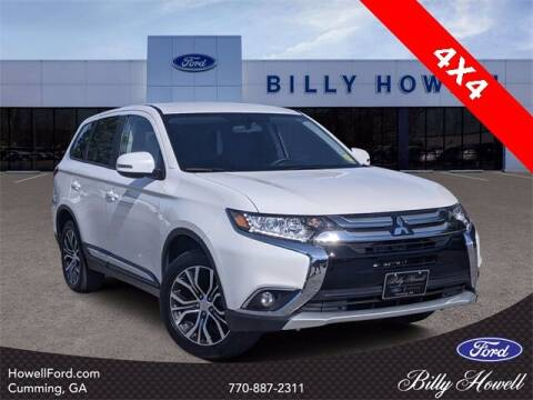 2018 Mitsubishi Outlander for sale at BILLY HOWELL FORD LINCOLN in Cumming GA
