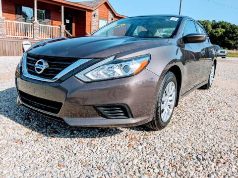 2017 Nissan Altima for sale at Delta Motors LLC in Jonesboro AR