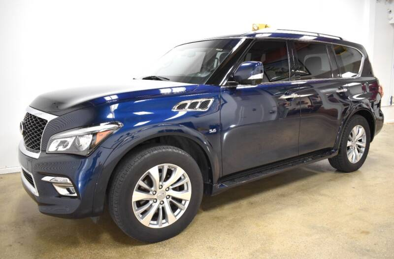 2017 Infiniti QX80 for sale at Thoroughbred Motors in Wellington FL
