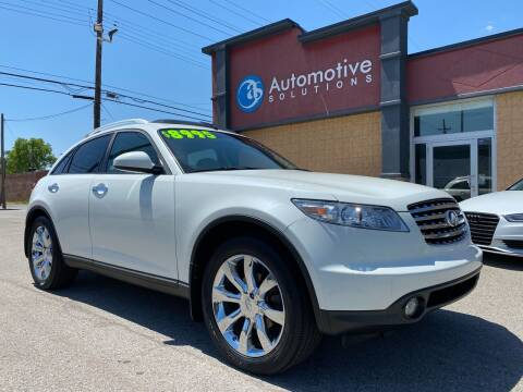 2004 Infiniti FX35 for sale at Automotive Solutions in Louisville KY