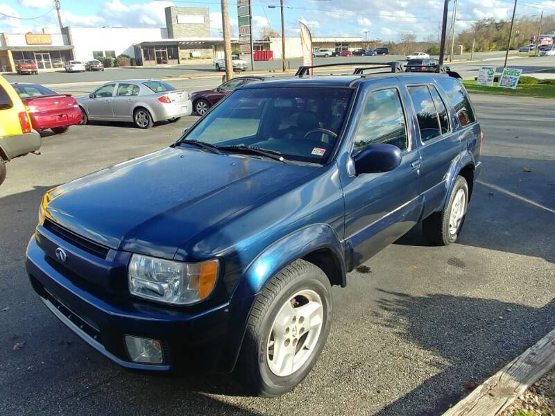 2002 Infiniti QX4 for sale at Regional Auto Sales in Madison Heights VA