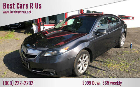 2012 Acura TL for sale at Best Cars R Us in Plainfield NJ
