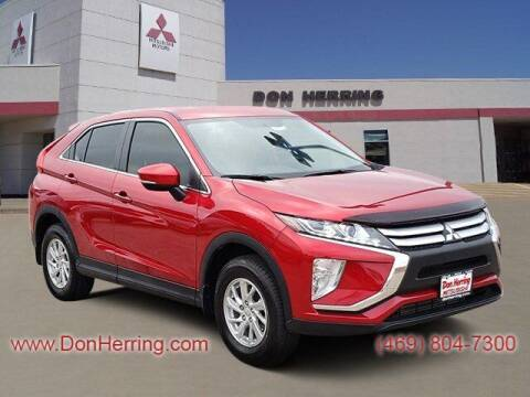 2019 Mitsubishi Eclipse Cross for sale at DON HERRING MITSUBISHI in Irving TX