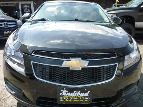 2012 Chevrolet Cruze for sale at Sindibad Auto Sale, LLC in Englewood CO
