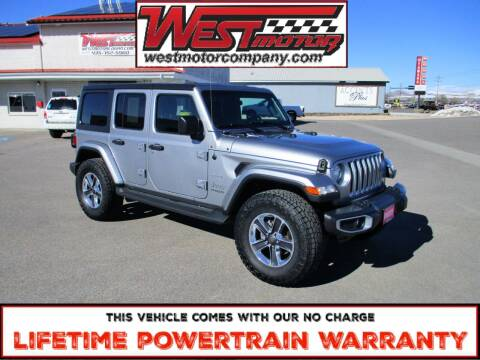 2019 Jeep Wrangler Unlimited for sale at West Motor Company in Preston ID