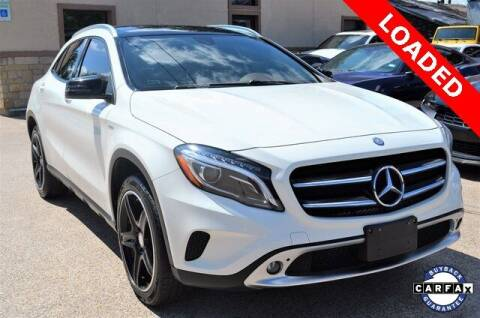 2015 Mercedes-Benz GLA for sale at LAKESIDE MOTORS, INC. in Sachse TX