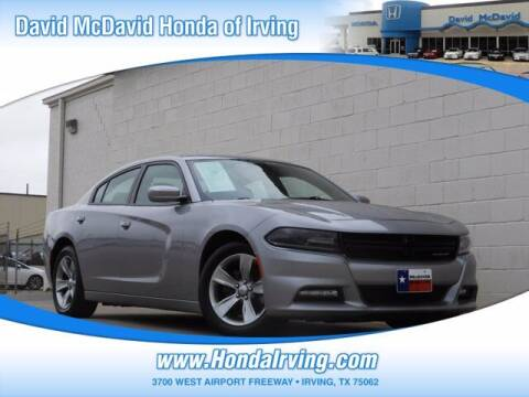 2017 Dodge Charger for sale at DAVID McDAVID HONDA OF IRVING in Irving TX