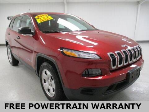2015 Jeep Cherokee for sale at Sports & Luxury Auto in Blue Springs MO