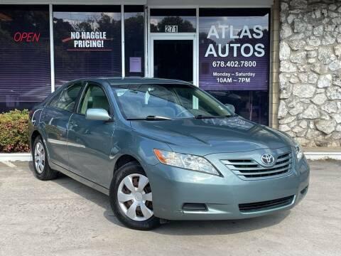 2009 Toyota Camry for sale at ATLAS AUTOS in Marietta GA