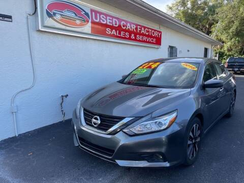 2018 Nissan Altima for sale at Used Car Factory Sales & Service in Port Charlotte FL