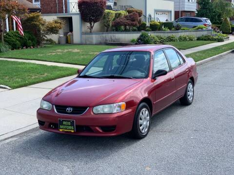 2001 Toyota Corolla for sale at Reis Motors LLC in Lawrence NY