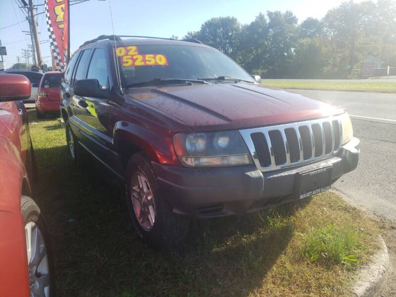 2002 Jeep Grand Cherokee for sale at Budget Auto Sales & Services in Havre De Grace MD