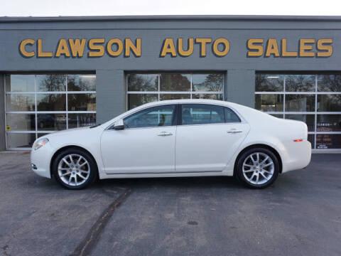 2011 Chevrolet Malibu for sale at Clawson Auto Sales in Clawson MI